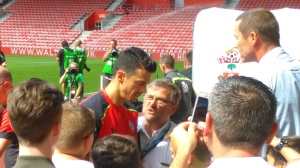 Captain Fonte came back to St. Mary's as an European Champion